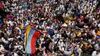 Zehntausende haben in Caracas bereits am 1. September gegen den venezolanischen Präsidenten Nicolás Maduro demonstriert.
