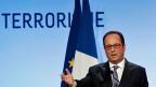 François Hollande hat in Paris eine programmatische Rede gehalten – über das Spannungsfeld zwischen Demokratie und  denKampf gegen den Terrorismus.