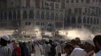 Muslimische Pilger in Mekka.