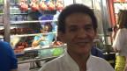 Koch Chan Hou Meng: Ich verkaufe hier Hühnchen in Soja-Sauce, gebratenes Schwein, Reis und Nudeln. Das Rezept ist geheim!