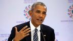 In der Abschiedsrede vor der Uno kam das Thema «Syrien» kaum vor. Barack Obama, der Chef der Supermacht hat hier resigniert.