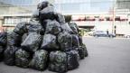 Abfallberg in Bern: Bei den Siedlungsabfällen steht die Schweiz in Europa mengenmässig an der Spitze.