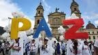 Es wird noch viele Hürden zu überwinden geben – in Bogota wird aber erst einmal der Friedensvertrag gefeiert.