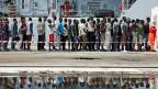 Mit der steigenden Zahl der Asylgesuche zeigen sich die Schwächen des italienischen Asylsystems.