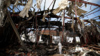 Saudis bombardierten gezielt eine Beerdigung in Sanaa: Resultat über 150 Tote, mehr als 500 Verletzte.