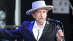Bob Dylan an einem Konzert in Carhais, Frankreich, am 22. Juli 2012.
