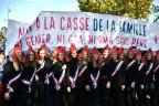 """Die """"Manif pour tous"""" in Paris"""