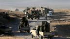 Kurdische Peschmerga rücken Richtung Mossul vor.