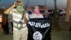 IS-Kämpfer in Mussul. Archivaufnahme vom Juni 2014.