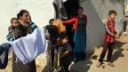 Jesiden aus der Gegend um Mossul flüchteten vor dem IS ins irakische Kurdengebiet.