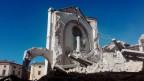 Die Basilika von San Benedetto in Norcia ist durch das Beben zerstört worden.