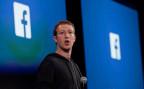 Facebook-Gründer und CEO Mark Zuckerberg bei einer Präsentation.