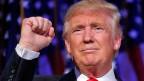 Der nächste Präsident der USA. Donald Trump.