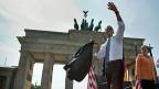 Der Abschied US-Präsident Obamas von Berlin ist auch ein Abschied von den USA, die der Westen kennt.
