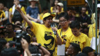 Die «BERISH»-Bewegung um Ambiga Sreenevasan versammelt sich im Protest gegen den Premieminister Najib Razak Kuala Lumpur.