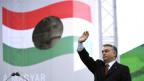 Viktor Orbán anlässlich einer Gedenkfeier an den ungarischen Aufstand 1956 in Budapest.