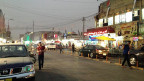 Eine Strasse in Erbil, der Hauptstadt der kurdischen Autonomiezone in Irak.