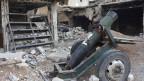 Offenbar kapitulierten die Rebellen, erzwungen durch kompromissloses Bombardement.