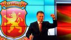Nikola Gruevski, der Chef der konservativen Partei, fühlt sich als Sieger. Die Opposition tut dies auch.