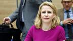 Die liechtensteinische Aussenministerin Aurelia Frick (Bild) und Liechtensteins UNO-Botschafter engagieren sich stark für die internationale Strafverfolgung von Kriegsverbrechen.