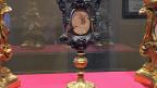 San Giovanni in Laterano ist neben San Pietro die wichtigste und meistbesuchte Kirche Roms. Eine der Reliquien, die dort lagert: ein Stück des Tisches, an dem das Letzte Abendmahl stattfand.