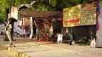 Auf dem Jantar Mantar dürfen alle für ihre Anliegen demonstrieren.