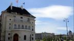 Der Leopoldinische Trakt der Hofburg, in dem sich die Kanzlei des Bundespräsidenten befindet. 2016 läuft die Amtszeit des amtierenden Bundespräsidenten aus.