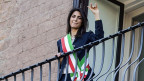 Virginia Raggi, von der Bewegung «Cinque Stelle, ist die erste Bürgermeisterin in Rom.
