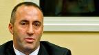 Ramuush Haradinaj am 29. November 2012 vor dem Jugoslawien-Tribunal in Den Haag.