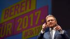 FDP-Präsident Christian Lindner spricht zu seiner Partei in Stuttgart.