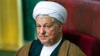 Der ehemalige iranische Präsident Rafsanjani auf einem Bild von 2011.