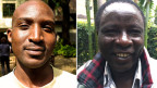 Geoffry Moses (links) und Joseph Kimilu: Wer hat, der muss geben. Und wer nicht gibt, der wird beschimpft und verwünscht.