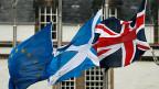 Den Optimismus der britischen Regierung über die künftigen Beziehungen zur EU nach einem harten «Brexit» teilt man in Schottland nicht. Auch in Nordirland und der Republik Irland herrscht Angst.