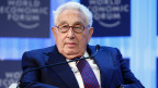 Henry Kissinger am World Economic Forum (WEF) in Davos am 24. Januar 2013.