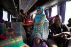 Geflohene Gambier kehren nach Hause zurück