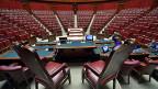 Ex-Premier Matteos Renzis Wahlgesetz hat sich nicht durchgesetzt. Das Oberste Gericht hat es zerzaust. Bild: Italienisches Parlament.