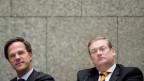 Justizminister Ard van der Steur (rechts) und Premierminster Mark Rutte.