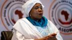 Die Südafrikanerin Nkosazana Dlamini-Zuma ist eine Ärztin und Politikerin. Seit Juli 2012 ist sie Kommissionsvorsitzende der Afrikanischen Union.