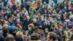 Auch in Brüssel gingen am Montag viele Leute auf die Strasse, um gegen die neuen Einreisebestimmungen von Donald Trump zu demonstrieren.