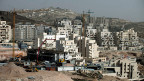 Blick auf eine israelische Siedlung in der Westbank.