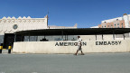 Beim Angriff der US-Spezialkräfte Ende Januar in Jemen starben 30 Menschen, die Hälfte davon Zivilisten, darunter auch Frauen und Kinder. Auch ein US-Marinesoldat wurde getötet – und ein al-Kaida-Kommandant. Seither herrscht Streit. Bild: US-Botschaft in der jemenitischen Hauptstadt Sanaa.