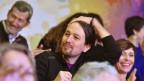 Der Führer der «Podemos», Pablo Iglesias, sieht sich einem Richtungsstreit ausgesetzt.