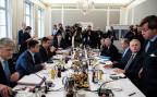 Die Aussenminister der Ukraine, Deutschlands, Russlands und Frankreichs treffen sich zu einem gemeinsamen Gespräch an der Münchner Sicherheitskonferenz.