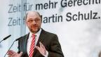 «Zeit für mehr Gerechtigkeit. Zeit für Martin Schulz»? In Deutschland gibt es eine gewisse Merkel-Müdigkeit. Wenn die Wählerinnen und Wähler den Eindruck haben, es gäbe eine valable und vertrauenswürdige Alternative – dann hat Martin Schulz durchaus eine Chance.