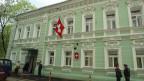 Das Verbindungsbüro ist im Gebäude der Schweizer Botschaft in Moskau untergebracht.