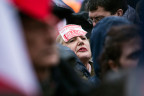 Kundgebung für François Fillon in Paris