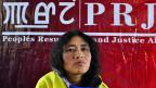 «Ich bin nicht aus Eisen», sagt die indische Aktivistin Irom Sharmila. Sie kämpft aber eisern gegen das Militärgesetz in ihrer Heimat, dem indischen Gliedstaat Manipur.