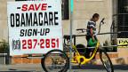 Für Chuck Schumer, Fraktionschef der Demokraten im Senat, steht fest:  «Der Plan der Republikaner würde Amerika nicht wieder grossartig, sondern wieder krank machen.»
