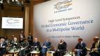 Die Teilnehmenden der G20-Konferenz der Finanzminister in Baden Baden.