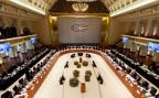 Mitglieder der G20 im Kurhaus Baden-Baden.